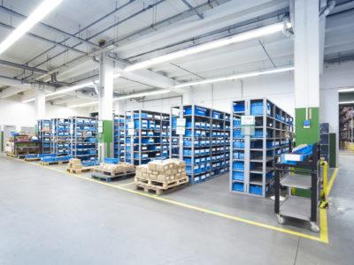 Ladebordwand Ersatzteile Warehouse Lager Logistik Lufapak