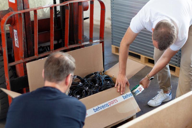 Behrens Parts Ladebordwand Ersatzteile Lkw Shop Landerampe 241
