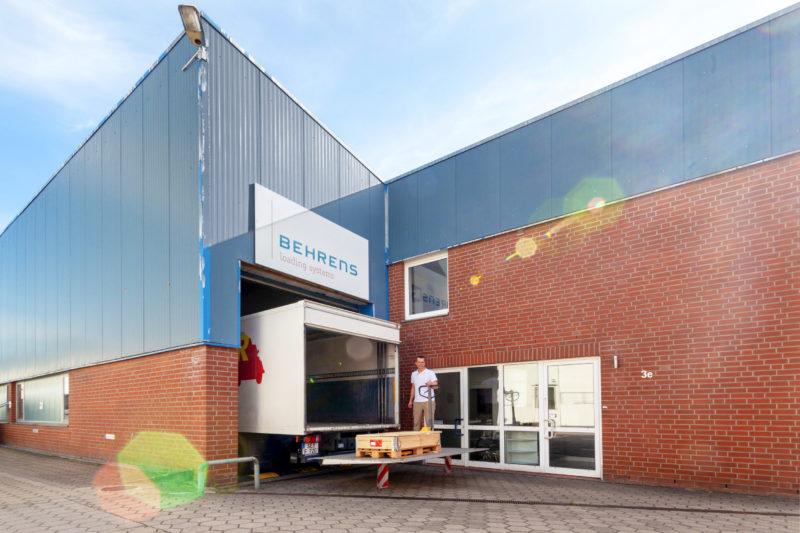 Behrens Parts Ladebordwand Ersatzteile Lkw Shop Landerampe Hamburg